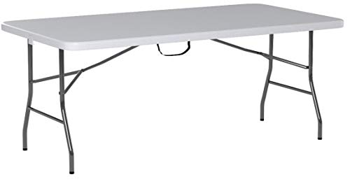 Cosco Deluxe 6 Foot X 30 Inch Fold In Half Blow Molded