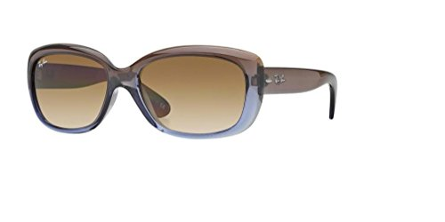 Ray-Ban RB4101 JACKIE OHH 860/51 58M Brown Gradient Lilac/Crystal Chocolate Gradient Sunglasses For ()