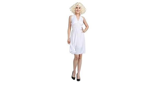 Red ROSEY Marilyn Monroe Disfraz de Marilyn para Mujer Disfraces ...