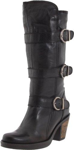 Eric Michael Women's Shannon Knee-High Boot,Black,36 Eu/5.5-6 M Us