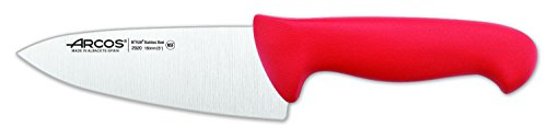 Arcos 6-Inch 150 mm 2900 Range Chef's Knife, Red
