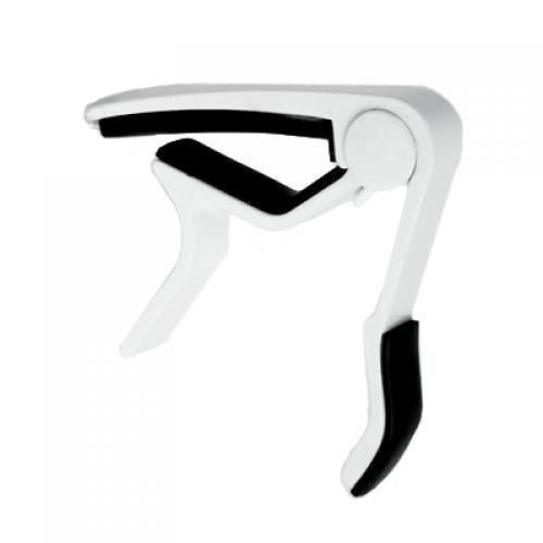 Generic White Single-handed Guitar Capo Quick Change
