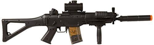 BBTac BT-M82 Airsoft Electric Gun Assault Rifle Fully Loaded AEG Automatic & Semi Full size, Black by BBTac
