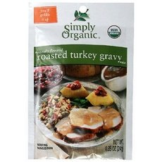 Simply Organic Roasted Turkey Gravy, Seasoning Mix 48x 0.85Oz