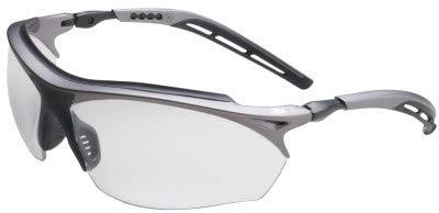 Maxim Around Wrap - 3M Maxim 14248-00000-20 Mirror Black/Metallic Gray Polycarbonate Standard Safety Glasses - 99.9 % UV Protection - Wrap Around Frame - 70071561610 [PRICE is per EACH]
