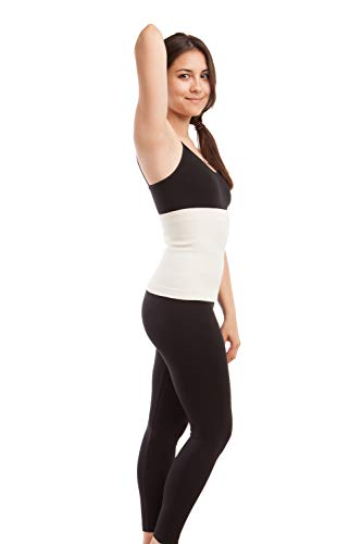 - ITA-MED Angora Warming Support Binder, Medium