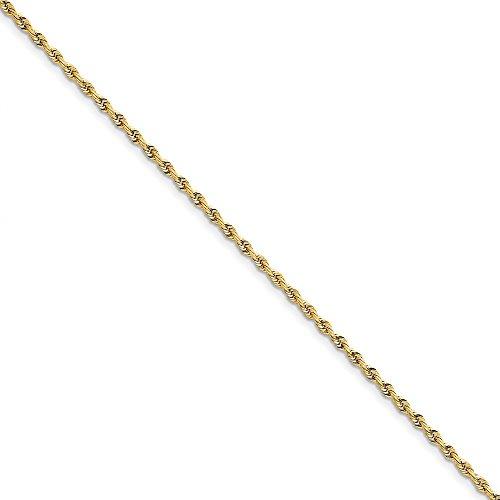 Perfect Jewelry Gift 10k 2.75mm D/C Quadruple Rope Chain