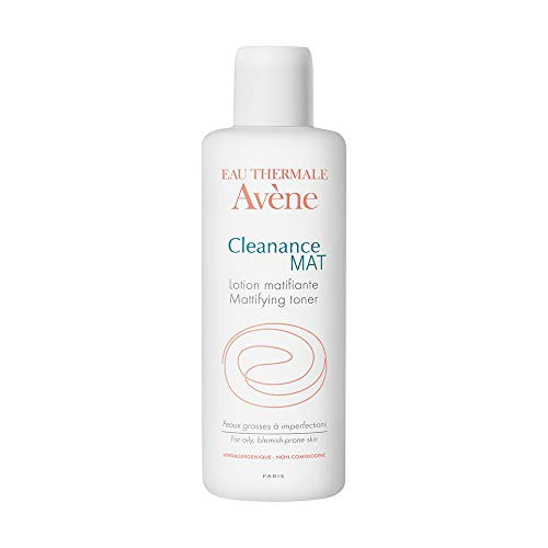 Eau Thermale Avene Cleanance MAT Mattifying Toner for Acne Prone, Oily, Sensitive Skin, Bi-Phase, 6.76 oz.