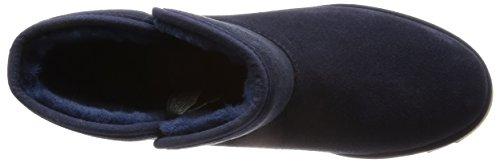 Hautes Bleu Kristin Femme Sneakers Marine Classic Slim Ugg Australia 1qfXqR