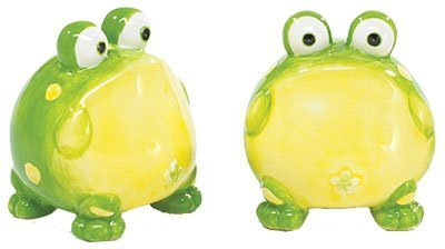 Toby The Toad Frog Salt And Pepper Shakers For Kit by Toby The Toad Collection