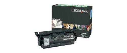 (X651H11A  Lexmark  Return Prog Print Cart)