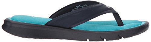NIKE Women's Ultra Comfort Thong Sandal, Obsidian/White/Chlorine Blue, 8 B(M) US - Image 6