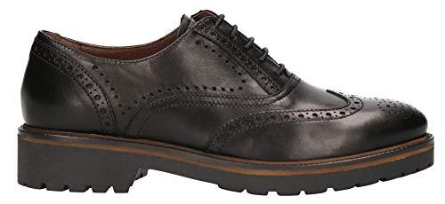 pour Noir Nero Giardini Noir à Ville Femme de Chaussures Lacets Noir qwY7zqO
