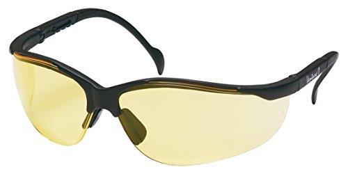 (Pyramex Venture Ii Safety Eyewear, Amber Lens With Black Frame)