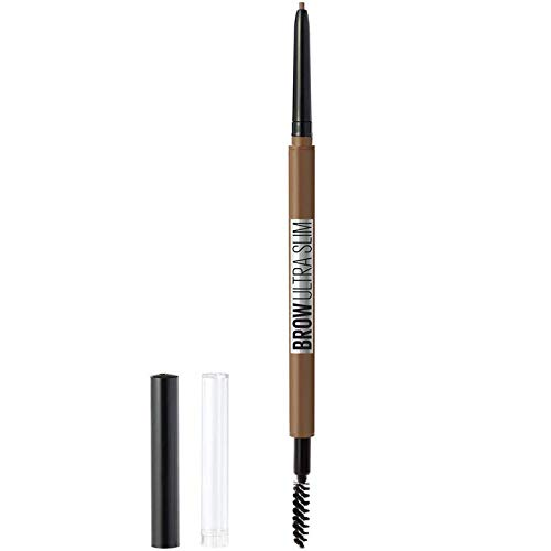 (Maybelline New York Brow ultra slim defining eyebrow pencil, Soft Brown, 0.003 Ounce)