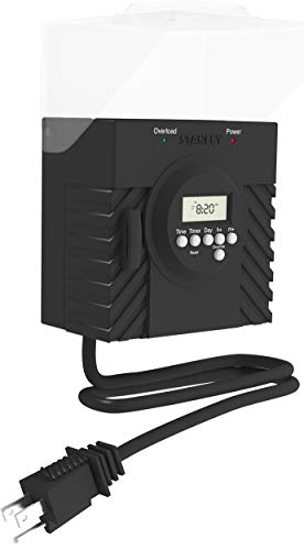 Stanley 31215 TimerMax Outdoor Pro Grounded 2-Outlet Mechanical Timer