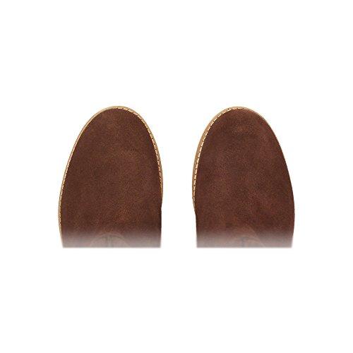 Botas talla Mujer marrón ZWEIGUTSmuck 210 color plisadas 42 axtq54Y