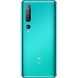 Mi 10 (Coral Green, 8GB RAM, 128GB Storage) – 108MP Quad Camera, SD 865 Processor, 5G Ready