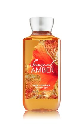 Sexy Body Shower Gel - Bath & Body Works Shea & Vitamin E Shower Gel Sensual Amber 10oz
