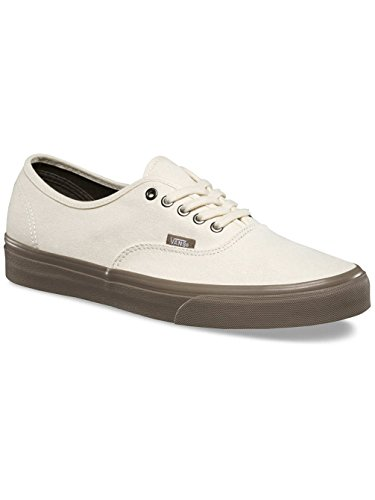 d03fd9b809d517 Galleon - Vans Unisex Authentic Skate Shoes Cream Walnut 4.5 D(M) US