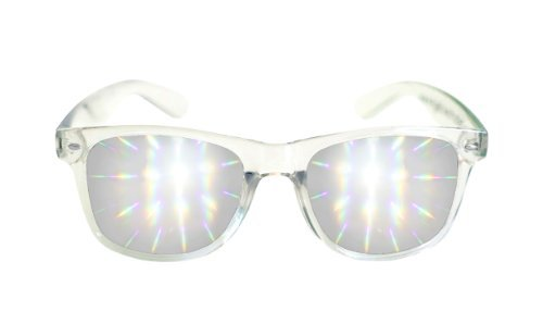 Quality Effects (Diffraction Glasses - High Quality Effect - Rave Accessories - Clear)