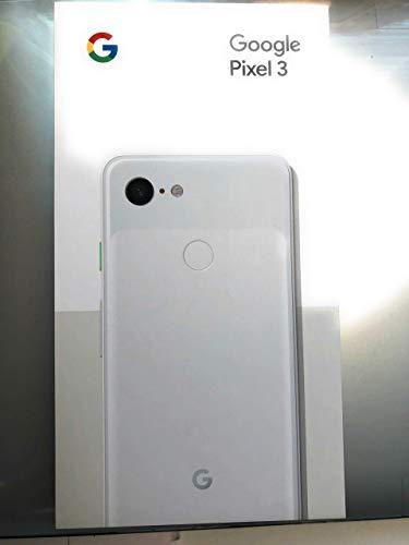 "Google Pixel 3 XL (2018) G013C 64GB - 6.3"" inch - Android 9 Pie - Factory Unlocked 4G/LTE Smartphone - International Version (Just Black)"