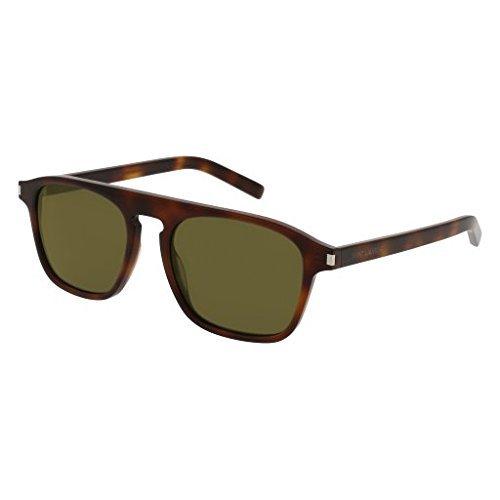 Sunglasses Saint Laurent SL 158 002 AVANA / GREEN / - Sunglasses Saint