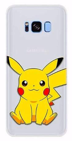 Art Design Coque Samsung Galaxy S9 Pikachu Pokemon Pokeball