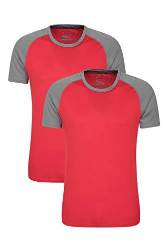 Mountain Warehouse Duurzaam T-shirt voor heren, ademend voor de zomer, UPF 30, licht, comfortabel en sneldrogend…