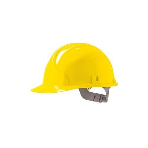 Yellow JSP Mk2/® Classic HDPE 6 Point Safety Helmet Work Hard Hat with Slip Ratchet