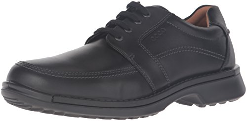 ECCO Men's Fusion II Tie Casual Oxford, Black, 44 EU/10-10.5 M US