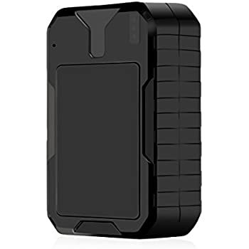 PopSky 4330271711 Gps Tracker, Waterproof Magnetic No Monthly Fee Portable Real Time Locator for Vehicle Person Asset Tracking