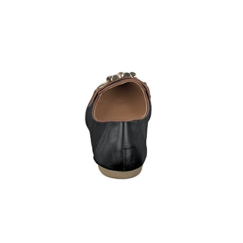 Ferrara Loafer Negro Linea Scarpa Outlet Excedentes Mujer nOq6x6pSzw