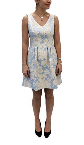 Donna Ricco Womens A-Line Dress, 6, Blue