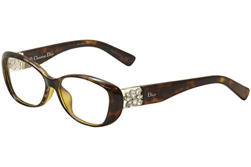 Christian Dior Cd Eyeglasses Frame (Christian Dior CD 3273/F Havana Crystal Eyeglass)