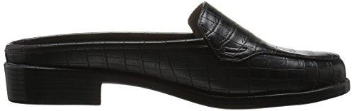 Aerosoles Womens Best Wishes Mule Black Crocodile 5BPjf