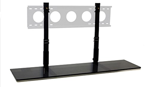 wall mounted shelves garage amazon mount shelf smart black glass home audio theater unit white with drawers