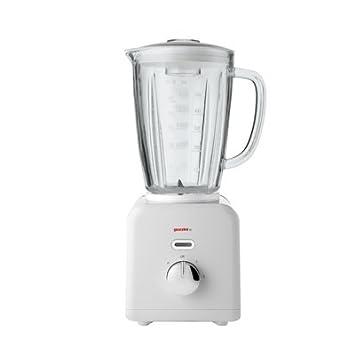 Guzzini Kitchen Active diseño Batidora, plástico, 50% Acero, White, 19 X 17.5 X H39 CM: Amazon.es: Hogar