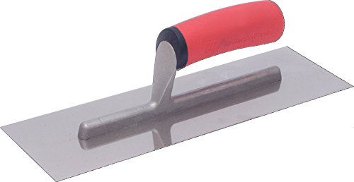 12 In. X 4 In. Stainless Steel Finishing Trowel-Marshalltown-FT124SS-HD - Stainless Steel Trowel