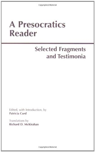 A Presocratics Reader