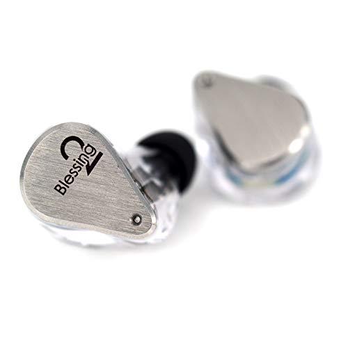 Moondrop Blessing2 1DD 4BA Hybrid Technology in-Ear Monitor Earphone Silver