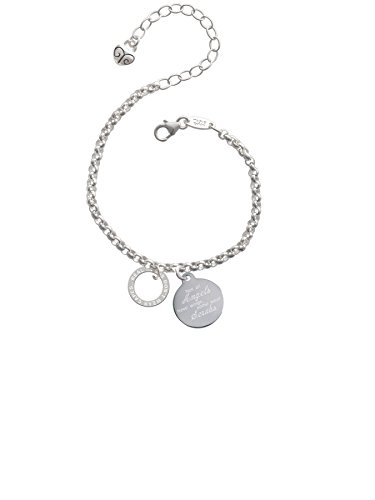 Real Heroes Teach Eternity Ring Not All Angels Have Wings Some Wear Scrubs Engraved Bracelet
