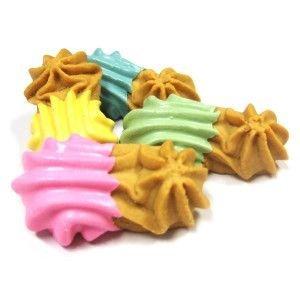 Claudia's Canine - Peanut's Peanut Butter Goobers Pastel - 24 Gourmet Dog Treats (Dipped Cookies Gourmet)