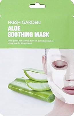 Frecipe - Fresh Garden Aloe Soothing Mask 5 Pack, Mascarilla Facial 5 Unidades: Amazon.es: Belleza