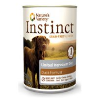 Natures Variety Instinct LID Duck Can Dog Food