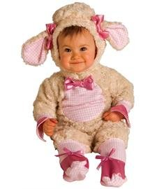 Costumes Of Group 10 Halloween (Rubies Lucky Lil Lamb Romper Halloween Costume (6-12)