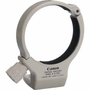Canon Replacement Tripod Mount Ring A II for EF 70-200mm f/4L USM, White Finish