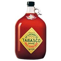 UPC 011210009875, Tabasco Pepper Sauce, Garlic, 128 Ounce