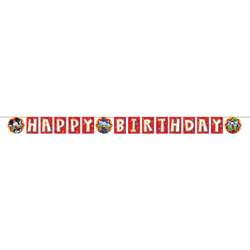 Mickey Mouse 'Fun and Friends' Happy Birthday Banner
