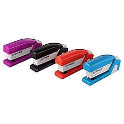 Accentra, Inc. PaperPro 1507 Accentra PaperPro Compact Stapler, 15 Sheet Capacity, Red/White Accentra Compact Stapler